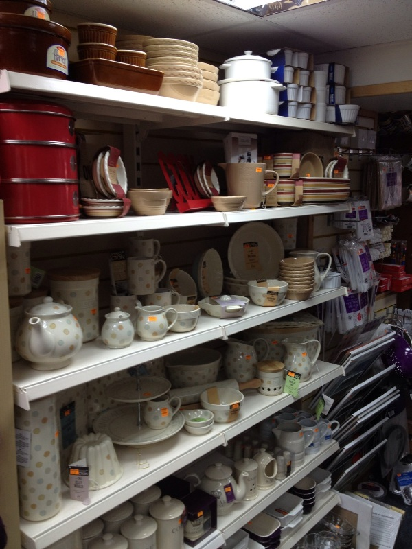 Pottery and Tableware