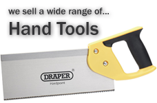 We sell hand tools