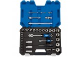 """1/4"""" and 1/2"""" Sq. Dr. Metric Socket Set (42 piece)"""