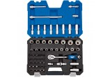"1/2"" Sq. Dr. Metric Draper Expert Multi-Drive® Socket Set (60 piece)"
