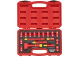 "1/4"" Square. Drive. VDE Socket Set (18 Piece)"