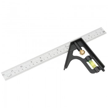 300mm Metric and Imperial Combination Square