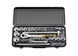 "1/2"" Square Drive Elora Metric and Imperial Socket Set (28 Piece)"