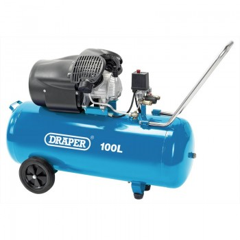 100L V-Twin Air Compressor (2.2kW)