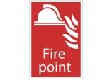 'Fire Point' Fire Equipment Sign