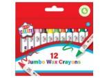 12 Pack Jumbo Wax Crayons