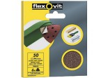 Delta Sanding Sheets - 6 Pack (94mm) - Assorted - 2 x 50,2 x 80, 2 x 120