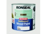 10 Year Weatherproof Satin Wood Paint - 2.5L White