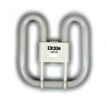 16w 2D 2Pin Lamp Bubble Pack (2700K) - Bubble Packed