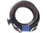 Combination Locking Cable with LED - 12mm x 1.8m