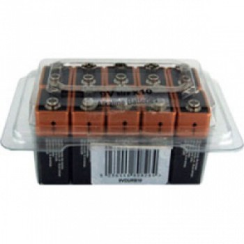 9V Battery - Tub of 10