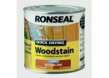 Quick Drying Woodstain Satin 250ml - Natural Oak