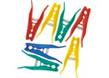 Plastic Clothes Pegs - 70mm Pack of 50