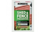 Shed Fence Preserver 5L - Light Brown