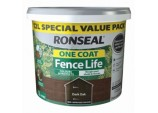 One Coat Fence Life 12L - Dark Oak