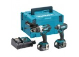 18v Li-Ion Combi And Impact Drill - Twin Pack