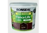 One Coat Fence Life 5L - Dark Oak