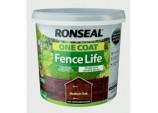 One Coat Fence Life 5L - Medium Oak