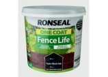 One Coat Fence Life 5L - Tudor Black Oak