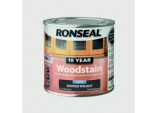 10 Year Woodstain Satin 250ml - Smoked Walnut