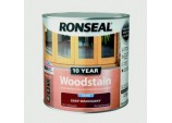 10 Year Woodstain Satin 2.5L - Deep Mahogany