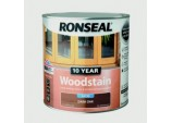 10 Year Woodstain Satin 2.5L - Dark Oak