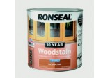 10 Year Woodstain Satin 2.5L - Natural Oak
