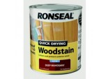 Quick Drying Woodstain Satin 750ml - Deep Mahogany