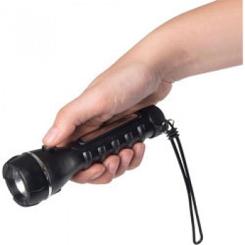 Deluxe Rubber Torch - Requires 2 x AA Batteries