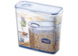 Food Storage Container - Rectangular with Flip Top Lid - 3.4L (237 x 112 x 219mm)