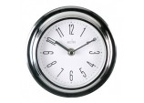 Riva Wall Clock Chrome - Chrome