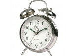 Saxon Bell Alarm Clock - Chrome