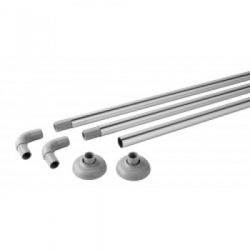 Luxury Modular Rail Polished Aluminium