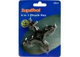 4 in 1 Chuck Key