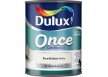 Once Coat Satin Wood 750ml - Brilliant White