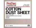 Cotton Twill Dust Sheet 12 x 9 (3.6m x 2.7m)
