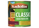 Classic All Purpose Woodstain 1Ltr - Mahogany