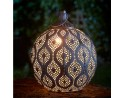 Cairo Lantern - Brushed Gold Antique Finish