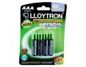 Rechargeable AAA Batteries - 4 pack