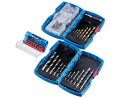 74 Piece Combination Drill and Bit set