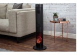 2kw PTC Ceramic Tower Heater - Black