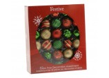 52 Piece Bauble pack - Red/Green/Gold