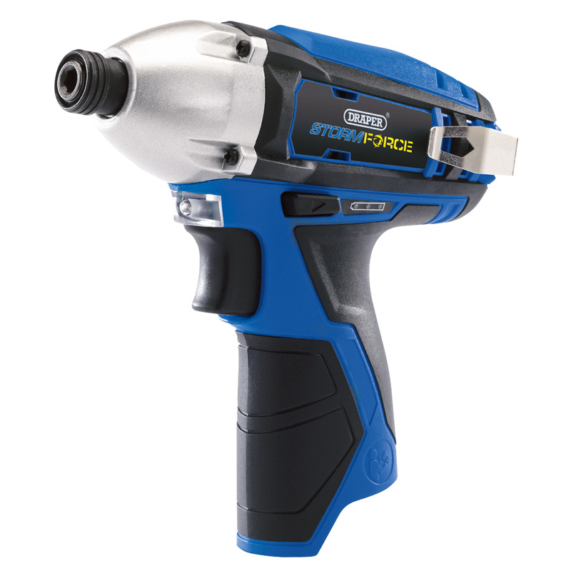 Draper Storm Force® 10.8V Cordless Impact Driver - Bare – Now Only £40.65