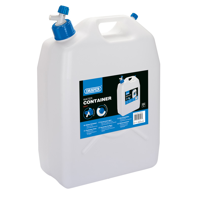 Water Container with Tap (25L) – Now Only £16.23