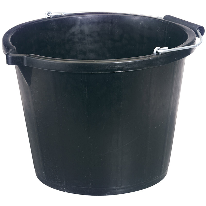 Bucket - Black (14.8L) – Now Only £2.63