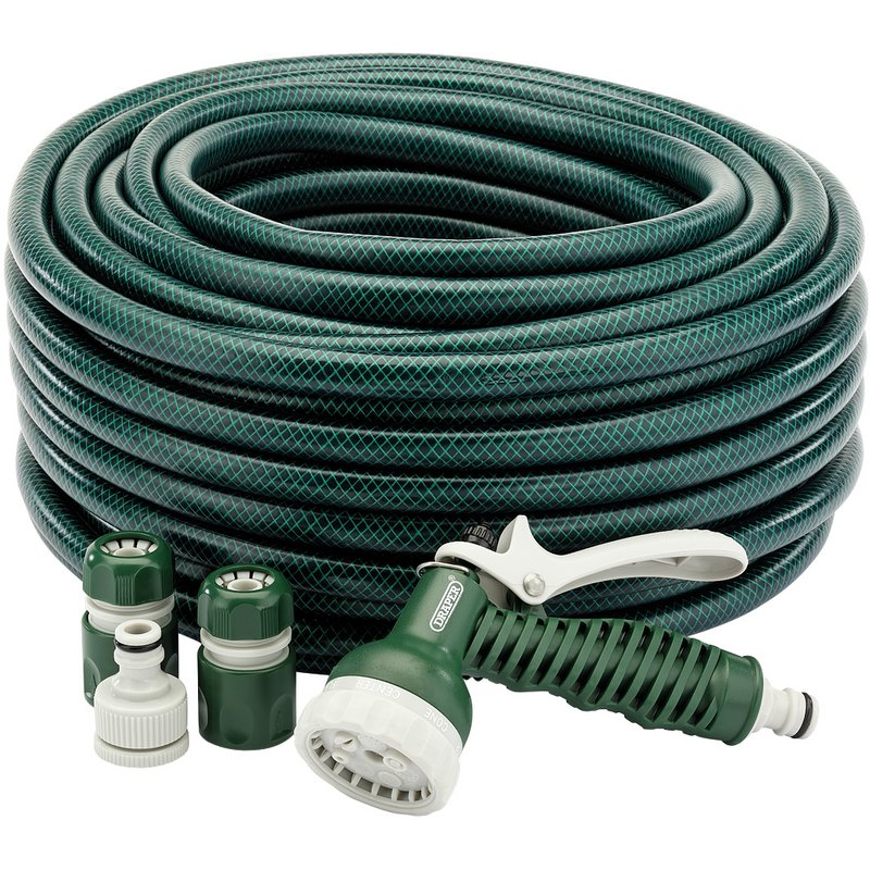 12mm Bore Garden Hose and Spray Gun Kit (30M) – Now Only £20.88