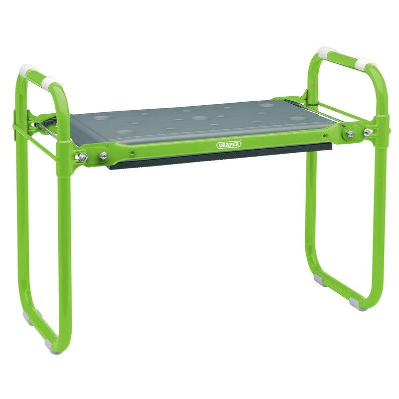 Folding Metal Framed Gardening Seat or Kneeler – Now Only £24.77