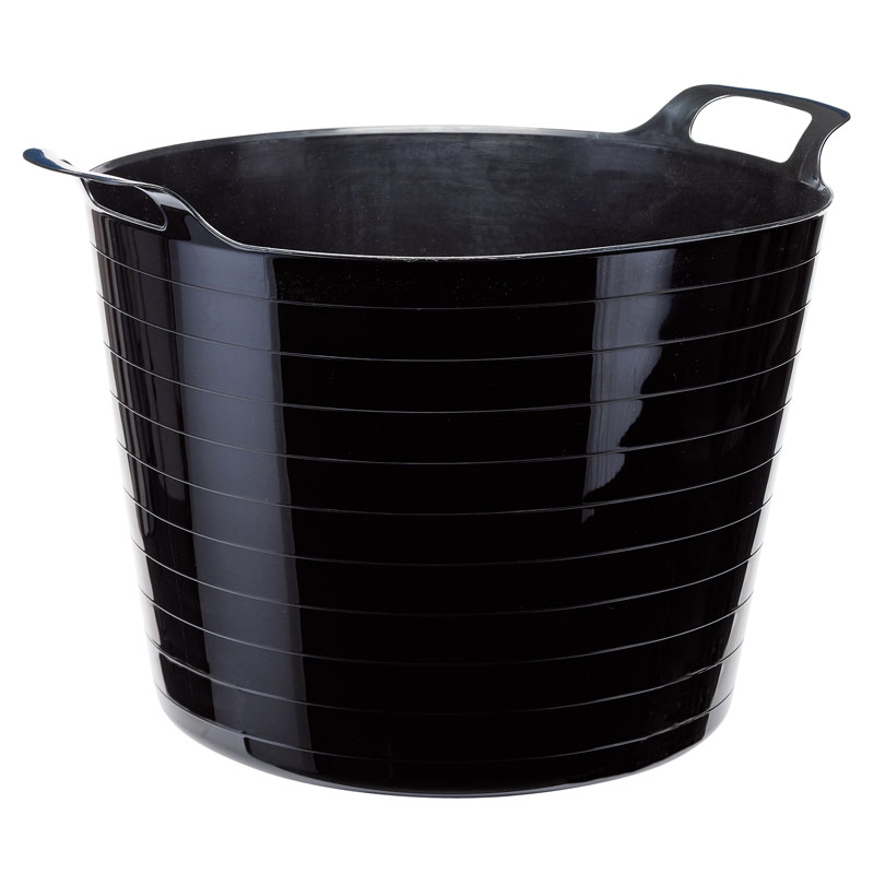 Multi Purpose Flexible Bucket - Black (40L) – Now Only £5.03
