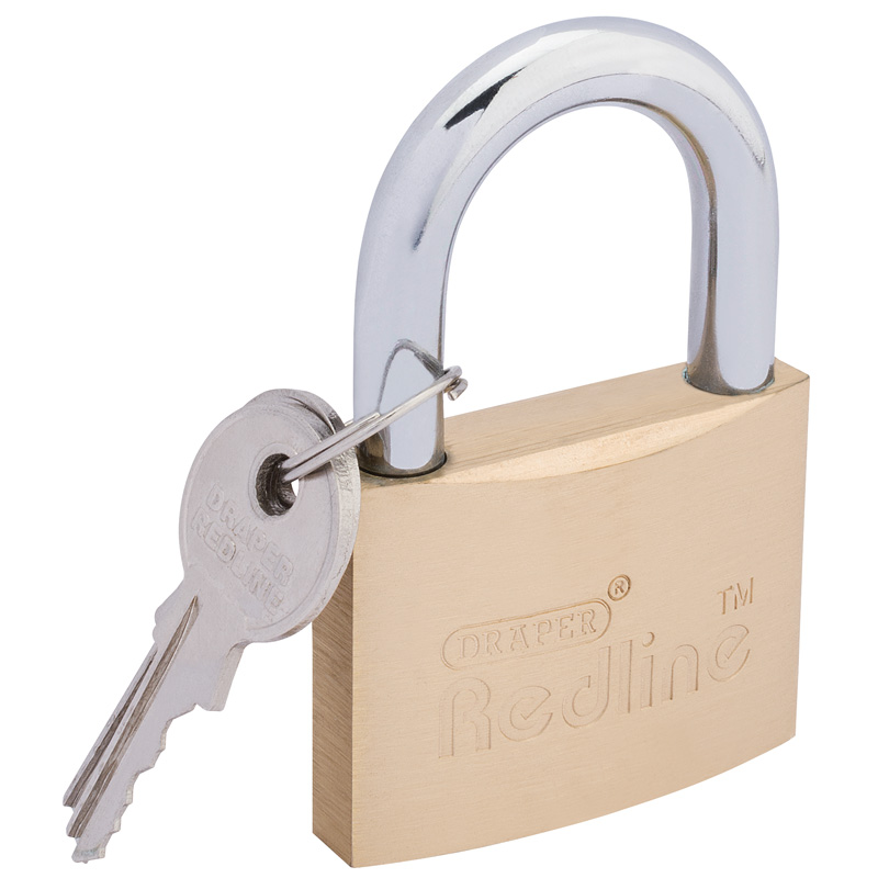 50mm Brass Cylinder Padlock – Now Only £6.64