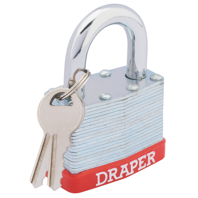 50mm Laminated Steel Padlock – Now Only £3.44